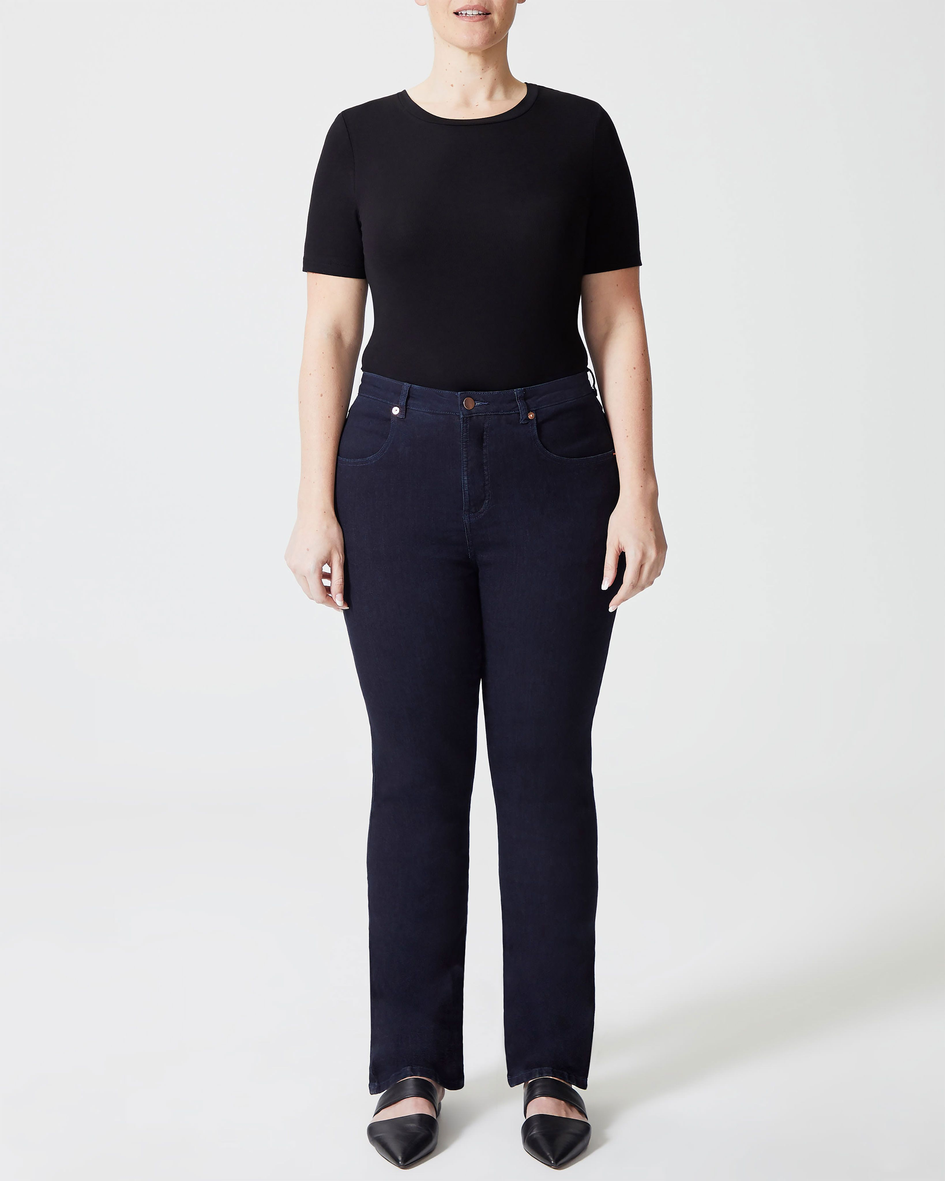 Marne Bootcut Jeans 32 inch - Black