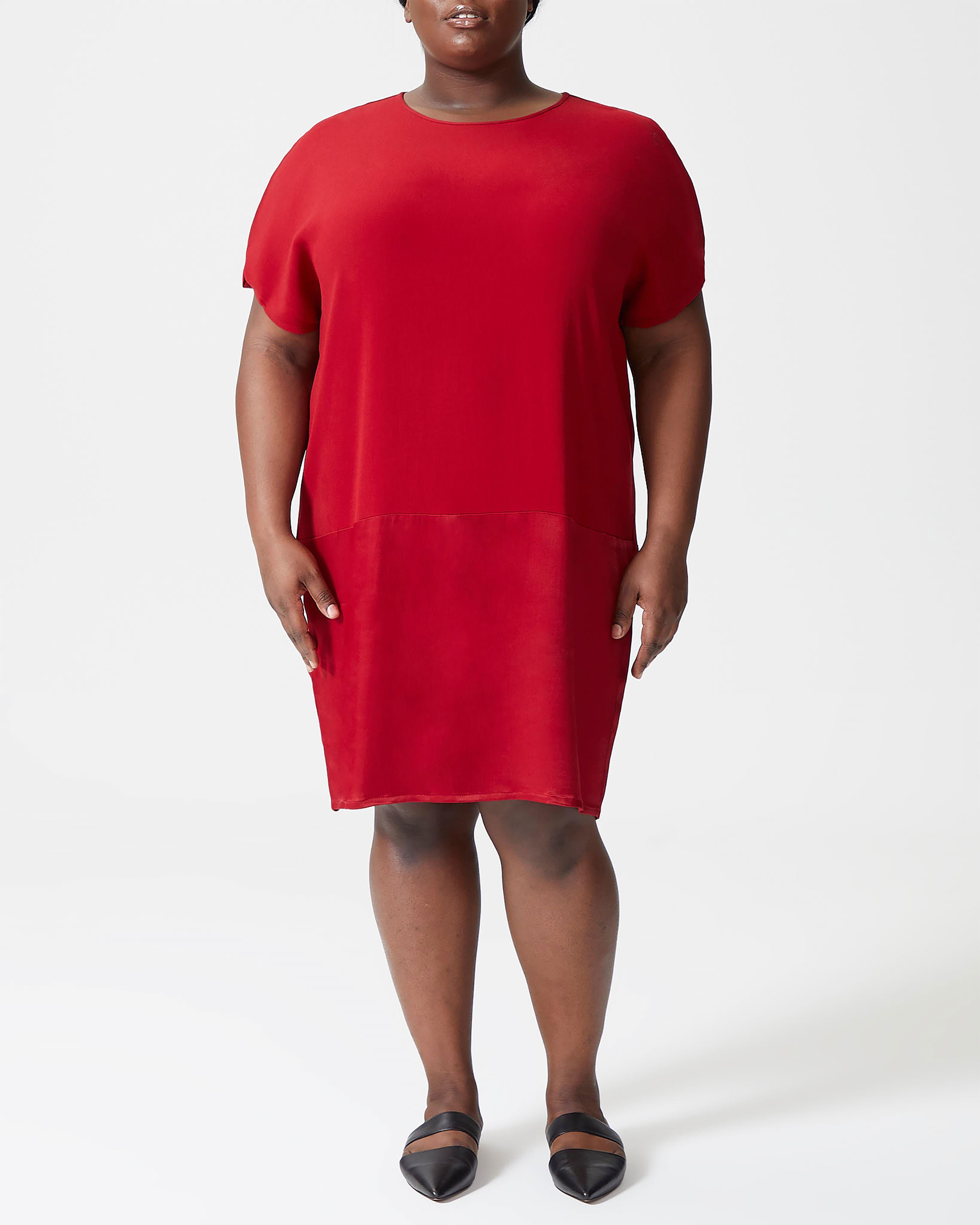 Avenir Dress - Red Dahlia