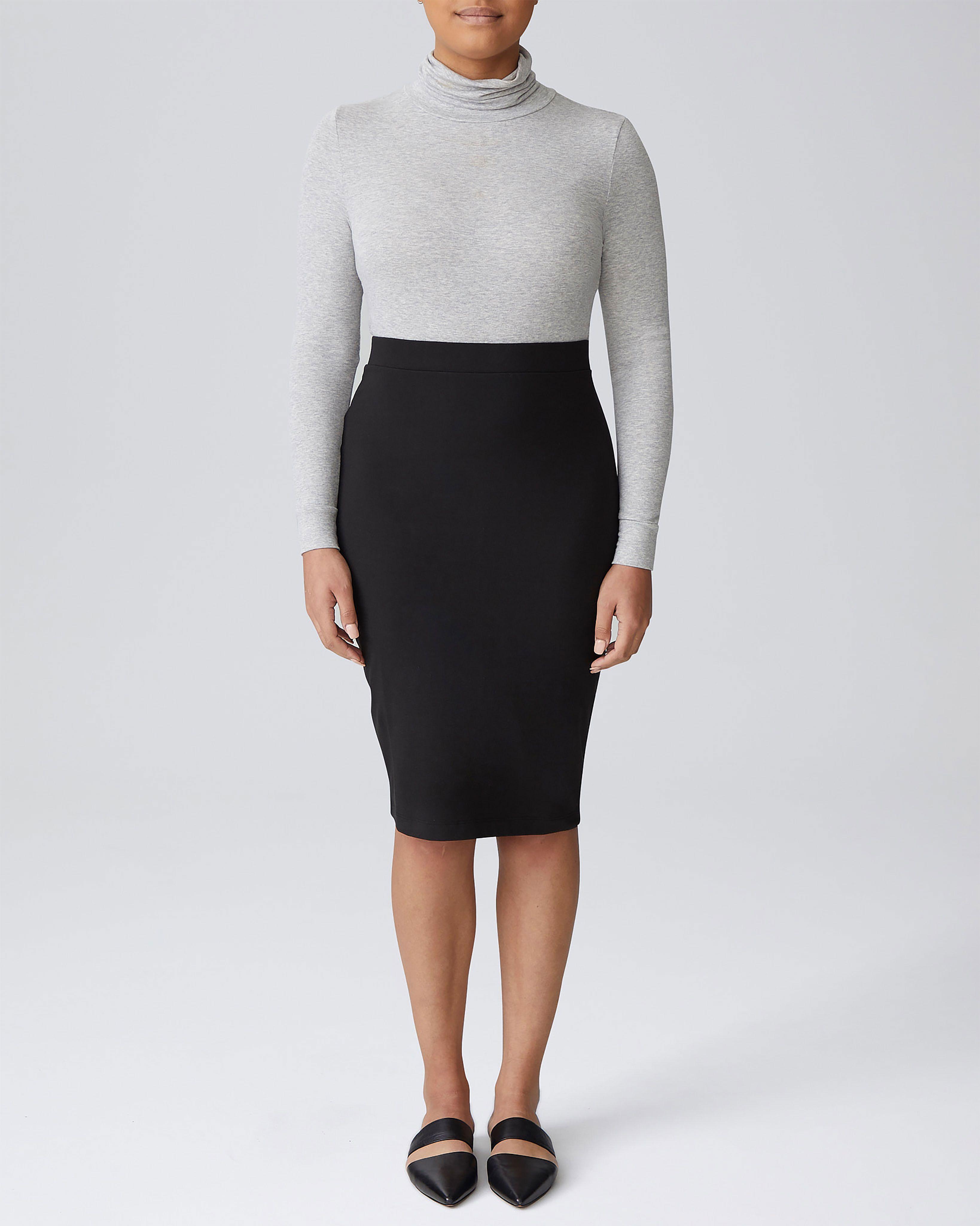 Danube Jersey Skirt - Black