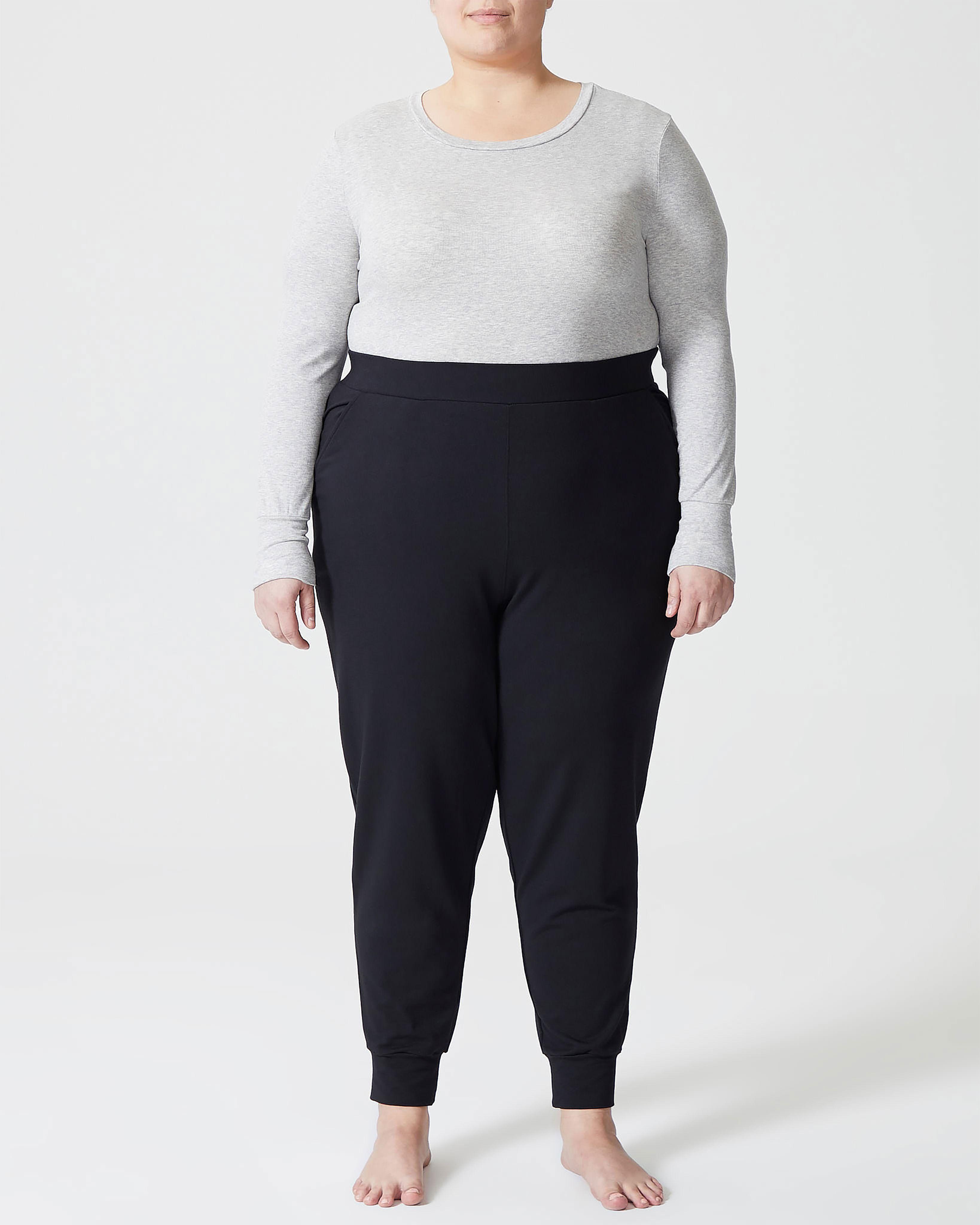 Hathaway Jersey Jogger Pants - Black