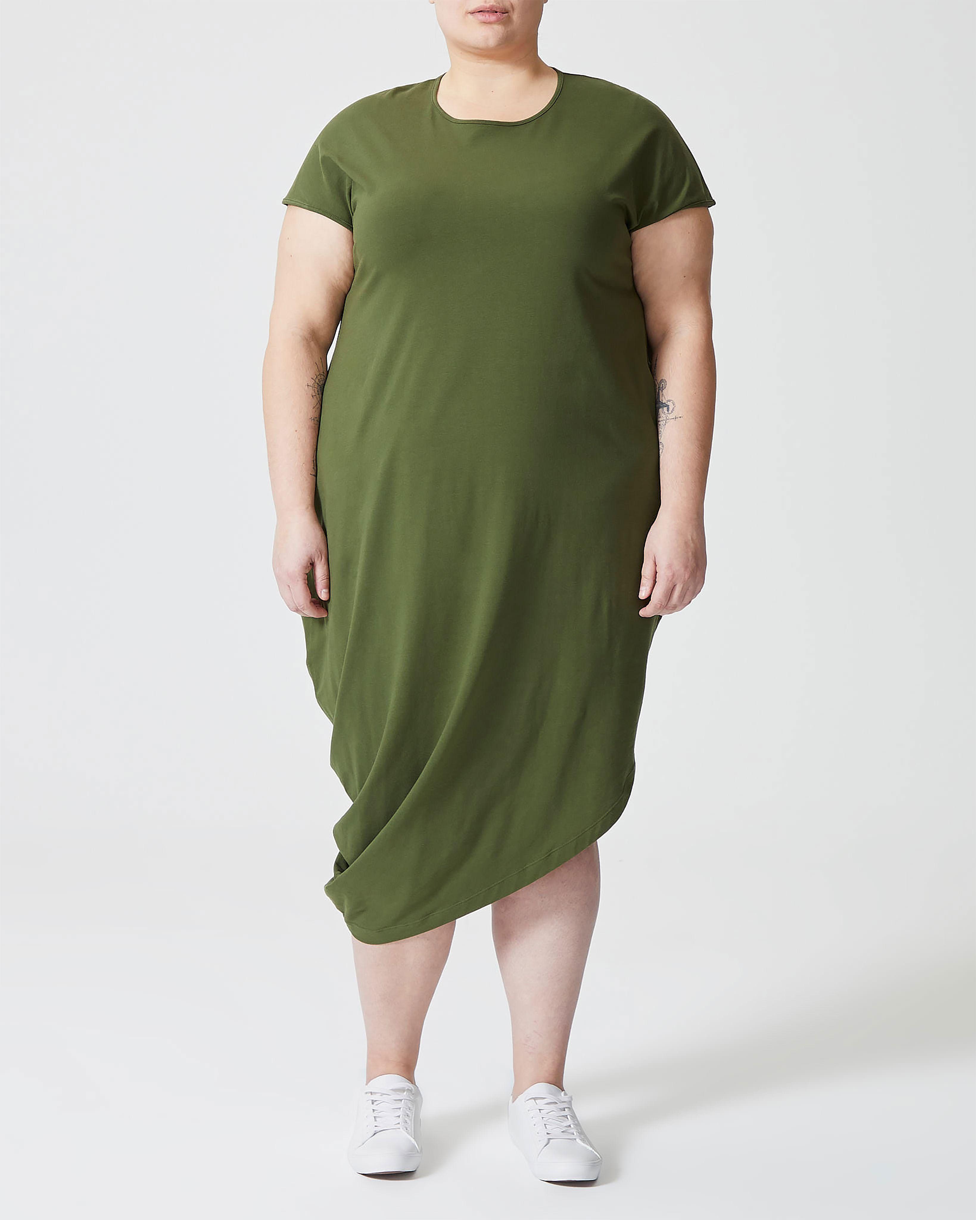 Iconic Geneva Dress - Camo