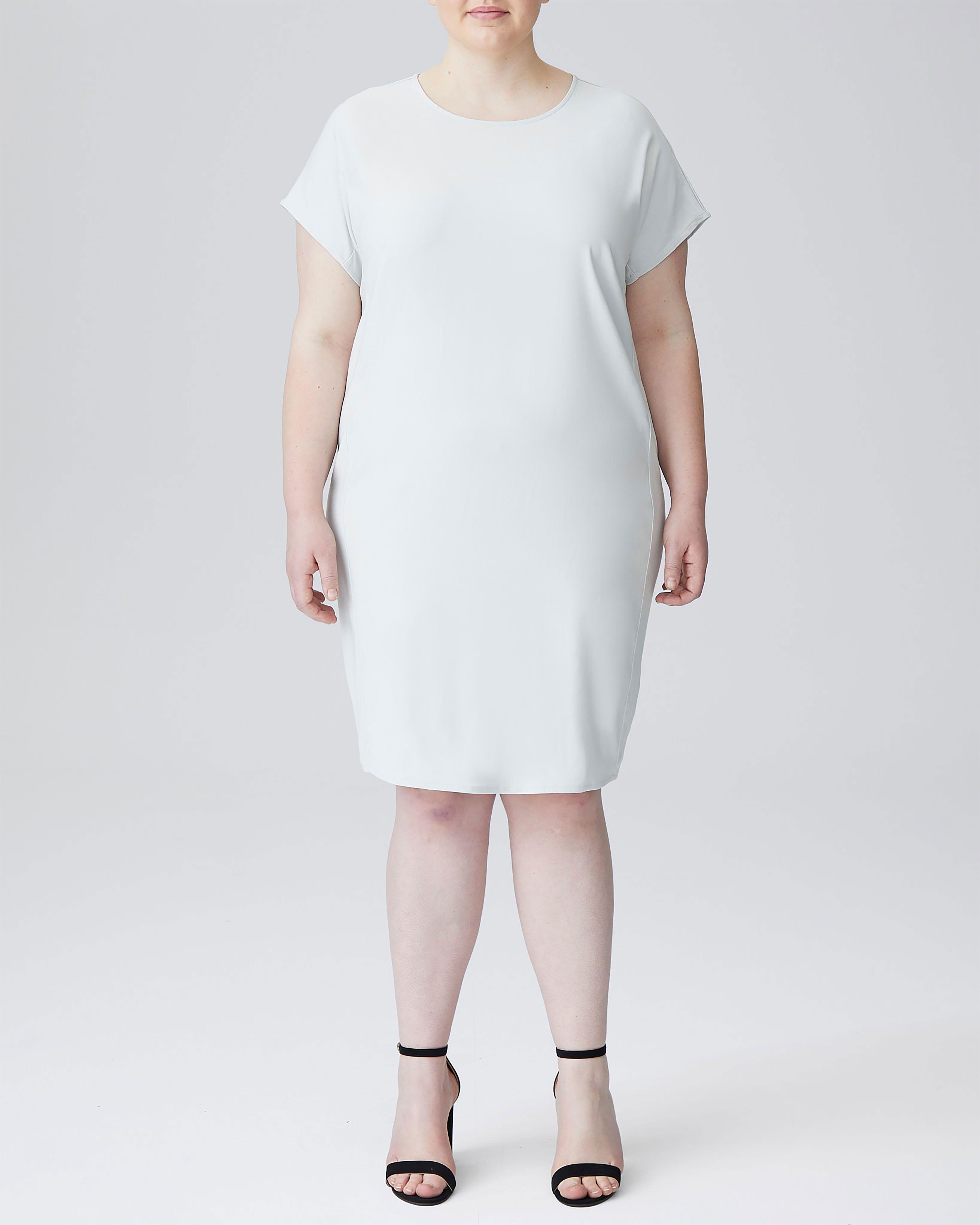 Isabelle Luxe Twill Sheath Dress - Black