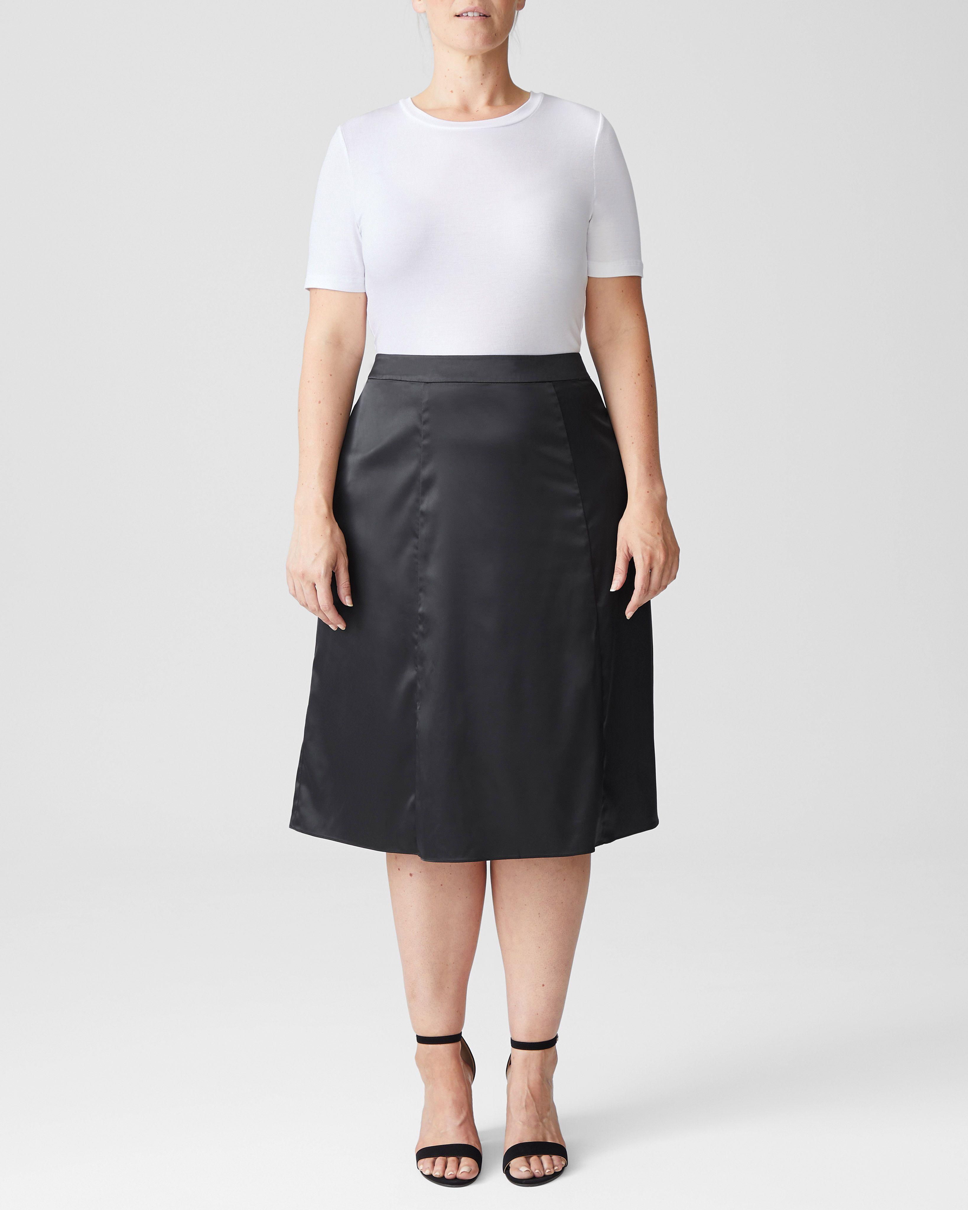 Jessica Skirt - Glossy Black