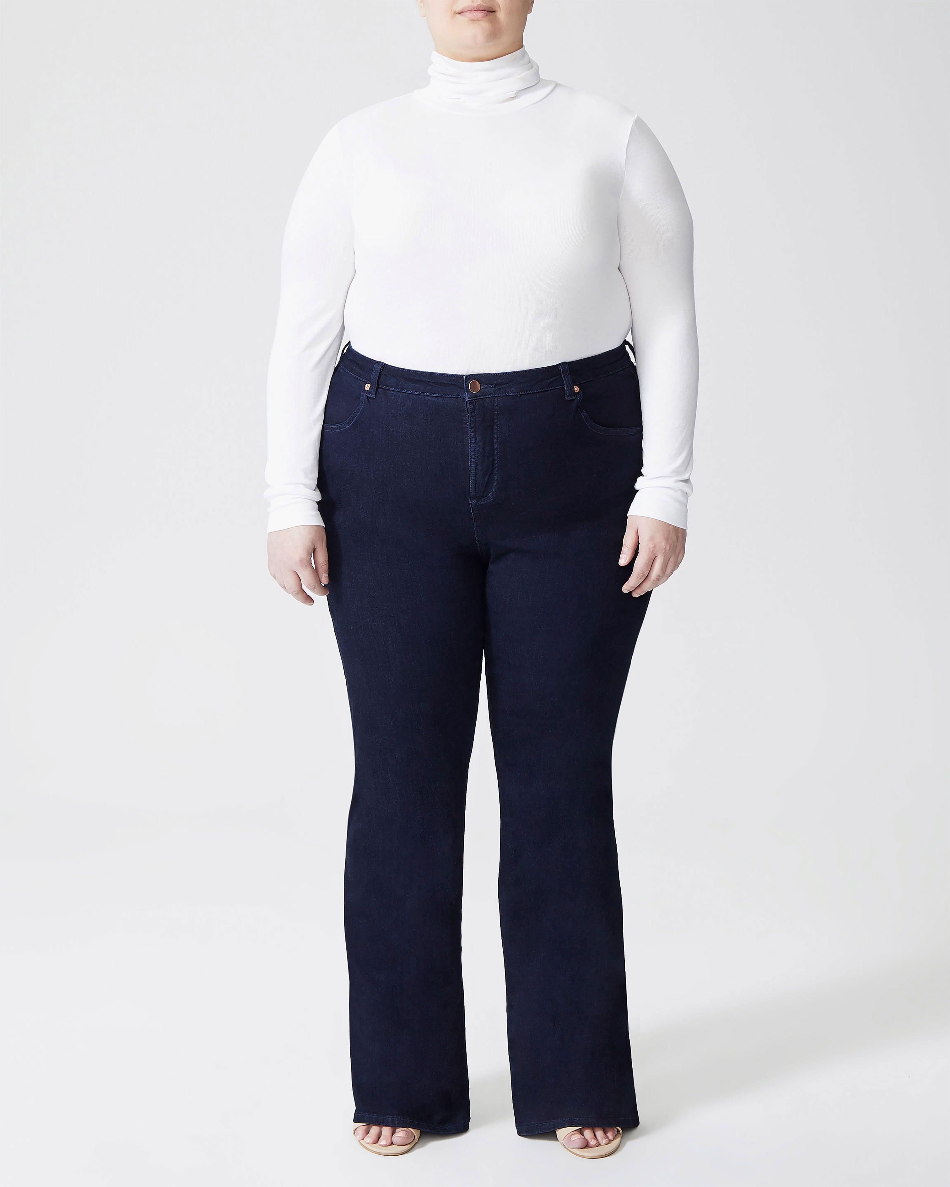 Sava High Rise Flare Jeans - Dark Indigo
