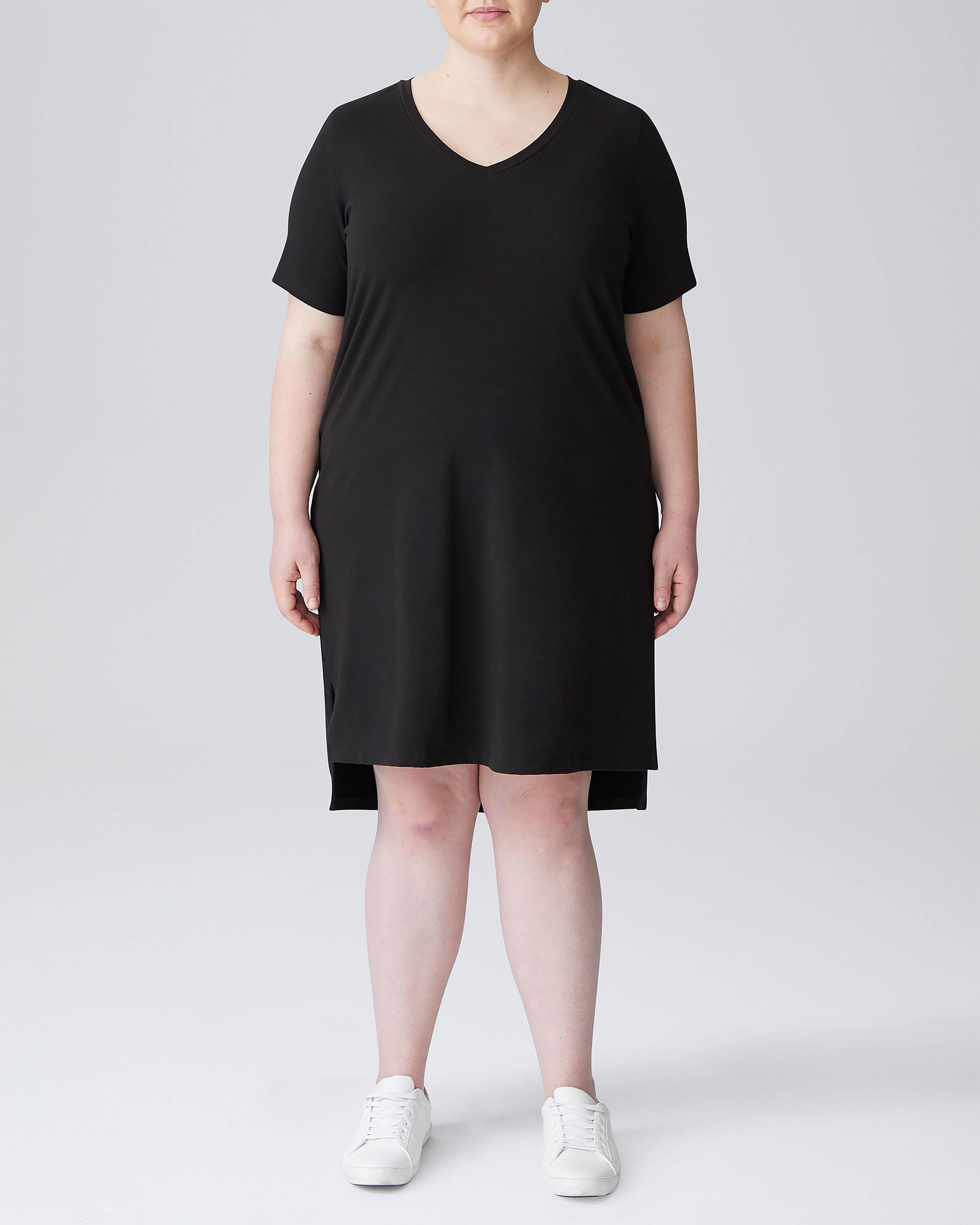 Tesino Washed Jersey Dress - Navy