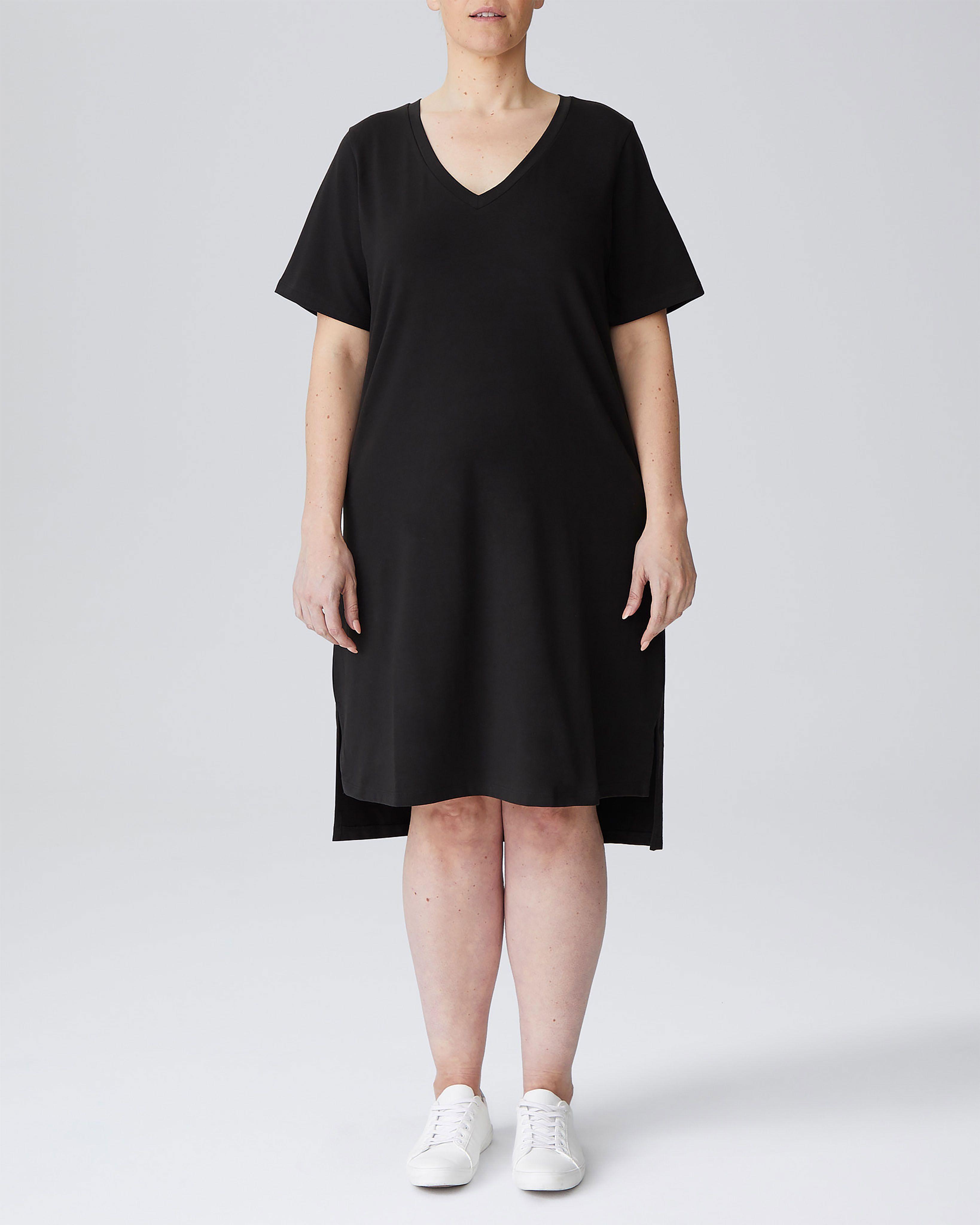 Tesino Washed Jersey Dress - Olive